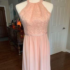 Davids Bridal Blush Dress